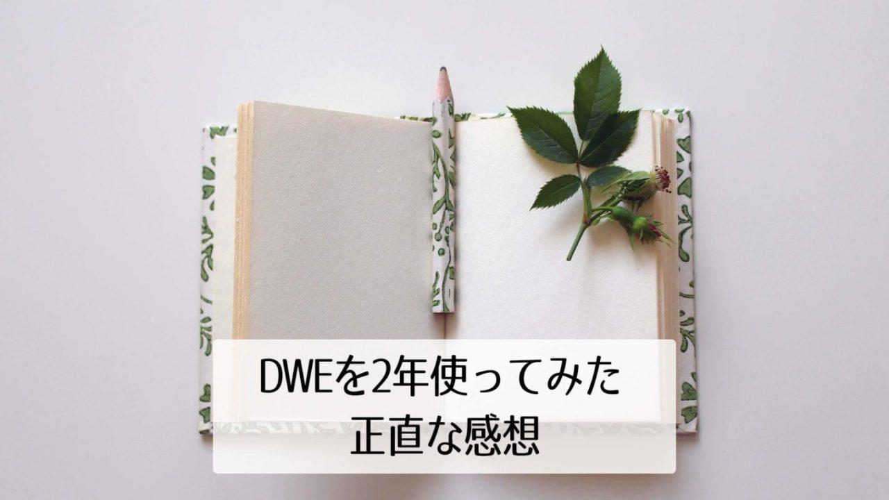 DWEレビュー